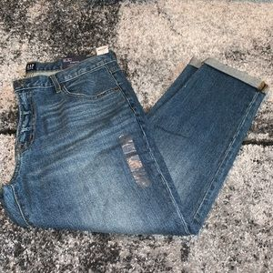 NWT GAP Best Girlfriend Jean Pants Blue Denim 31